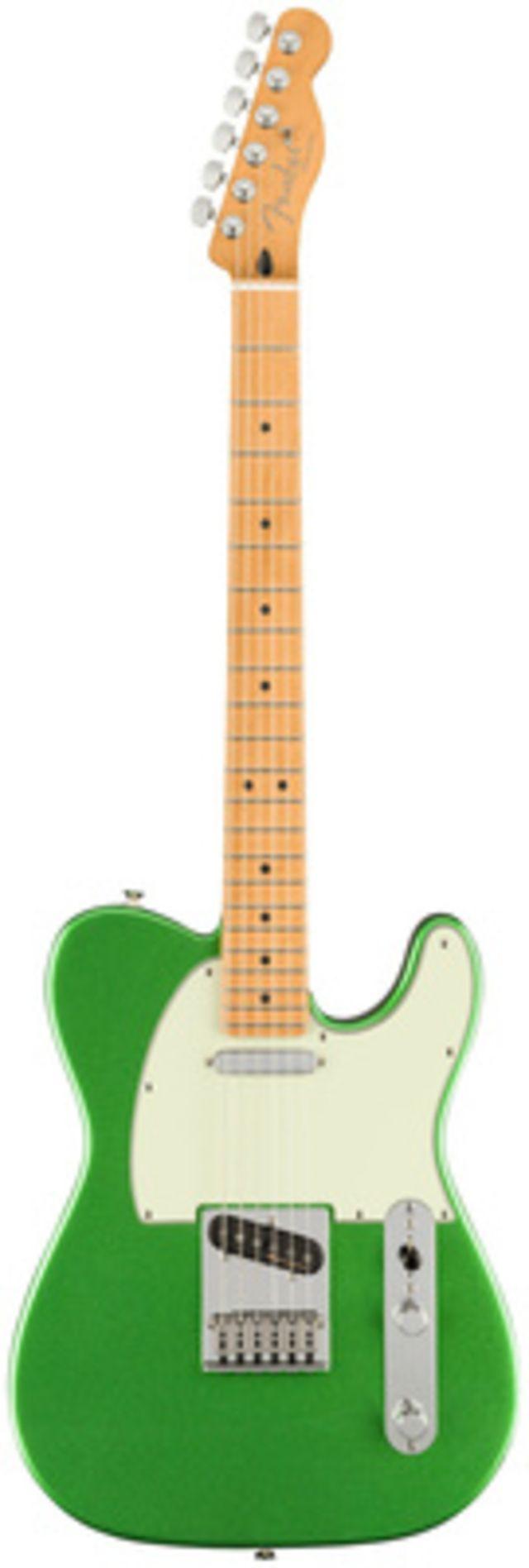 Fender Player Plus Tele MN CosmicJade