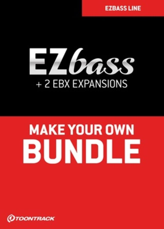 Toontrack EZbass EBX Bundle
