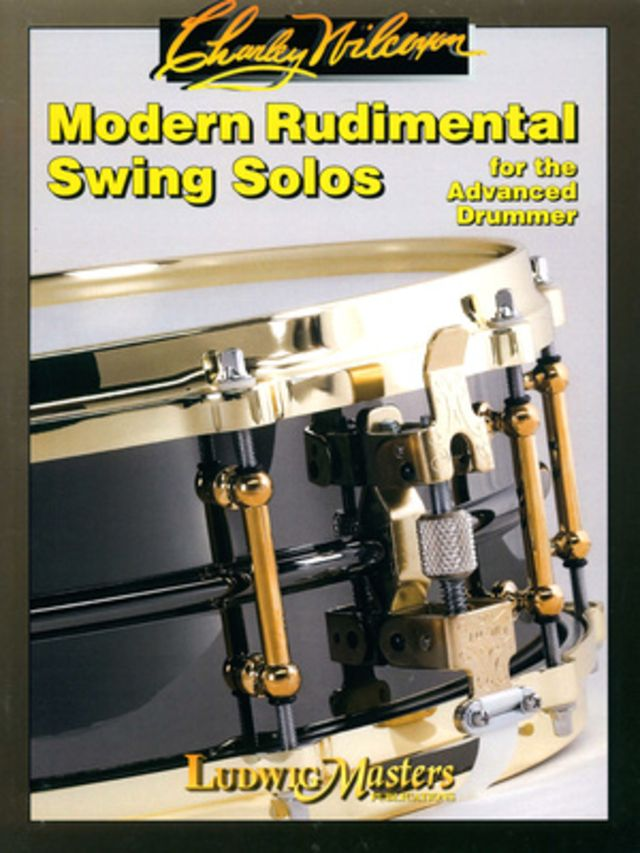 Ludwig Masters Publications Modern Rudimental Swing Solos