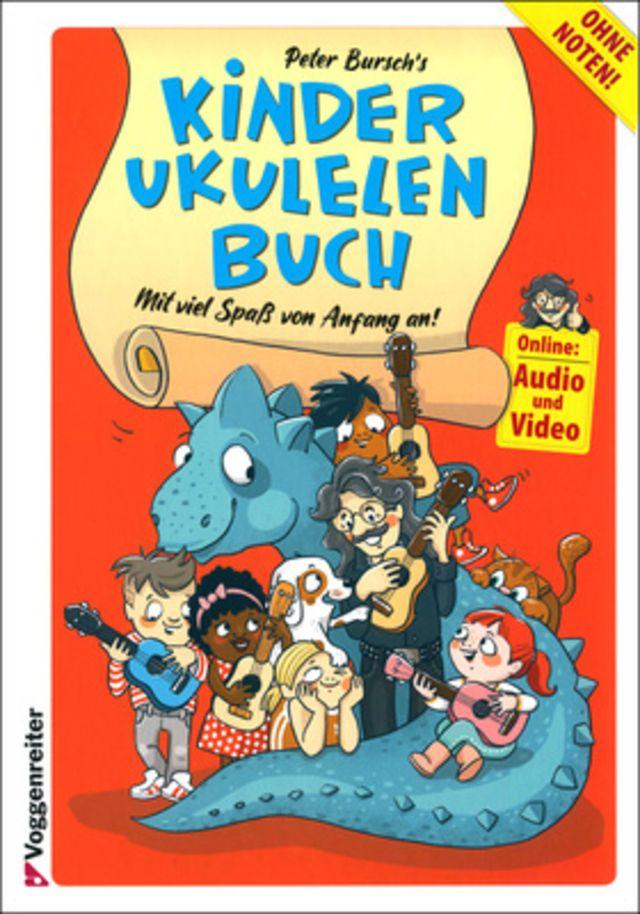 Voggenreiter Kinder-Ukulelenbuch