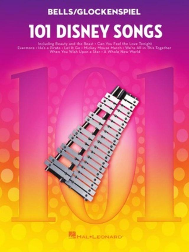 Hal Leonard 101 Disney Songs Glockenspiel