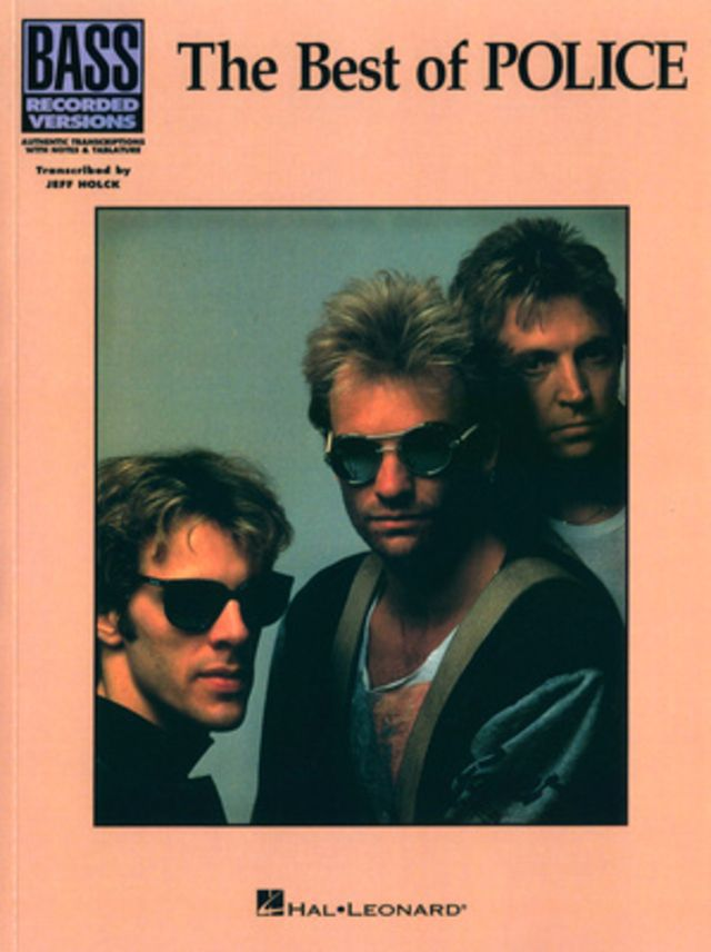 Music Sales The Best Of Police Bass