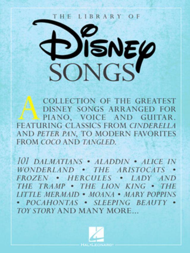Hal Leonard Library of Disney Songs Piano