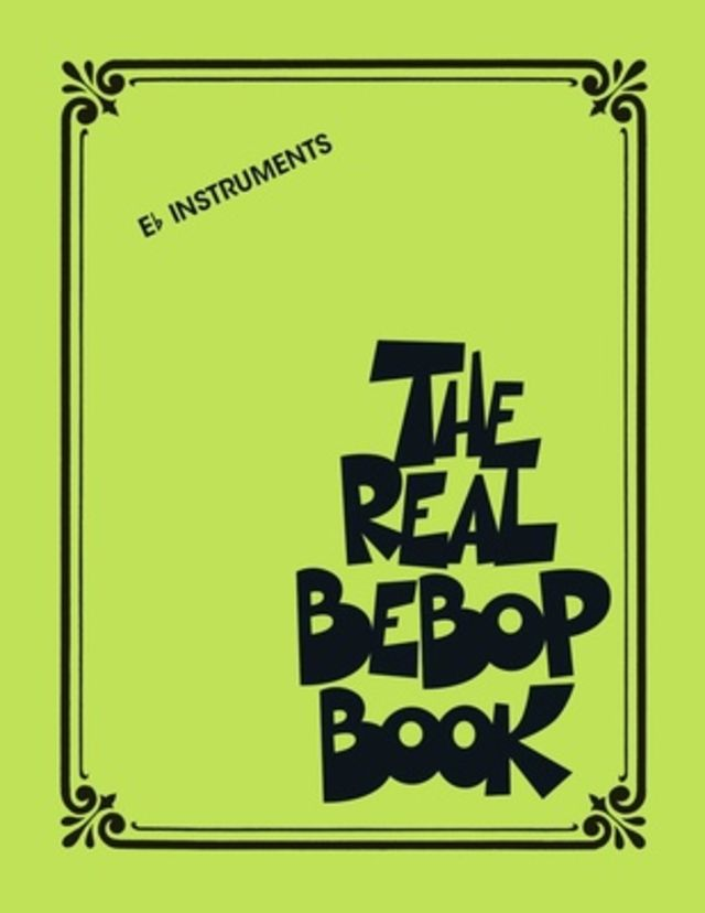Hal Leonard The Real Bebop Book Eb