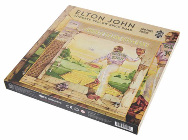 Plastic Head Jigsaw Puzzle Elton John