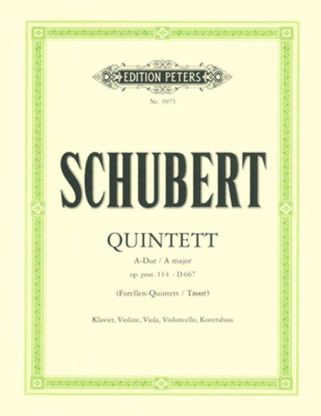 Edition Peters Schubert Forellenquintett