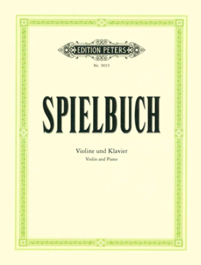 Edition Peters Spielbuch Violine und Klavier