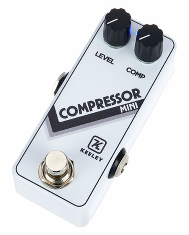 Keeley Compressor Mini Arctic White
