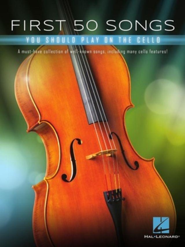 Hal Leonard 50 Songs You Should Cello