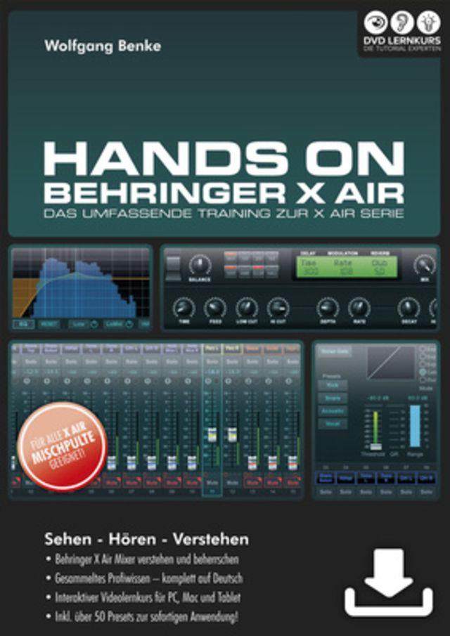 DVD Lernkurs Hands On Behringer X Air