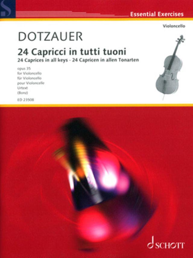 Schott Dotzauer 24 Capricci Cello