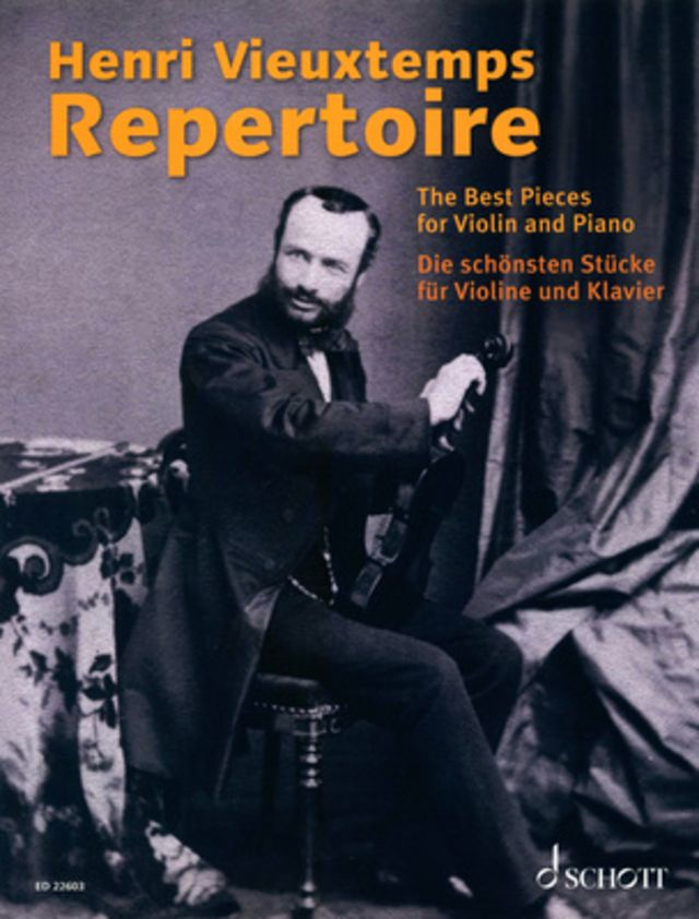 Schott Henri Vieuxtemps Repertoire