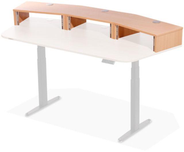 Thon Studio Ext.Desk3U Beech curved