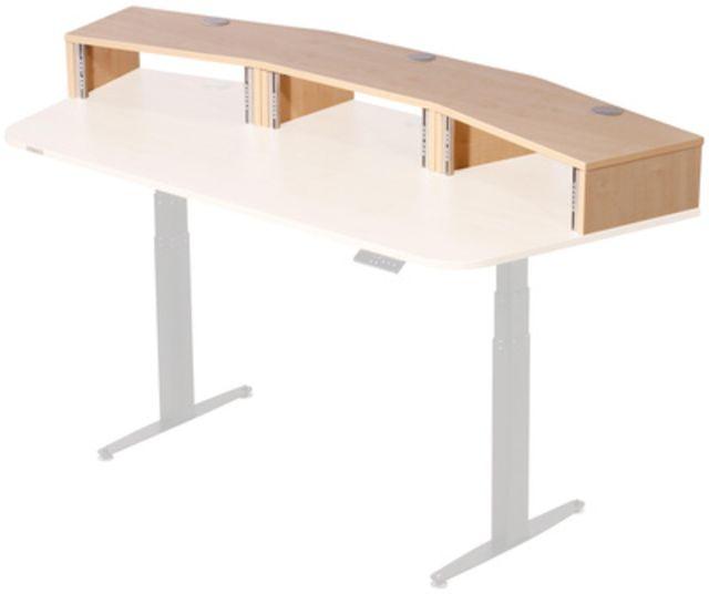 Thon Studio Ext.Desk3U Maple curved