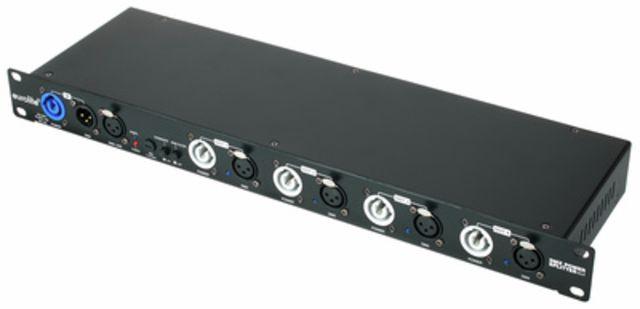 Eurolite DMX Power Splitter 4x4 3-Pole