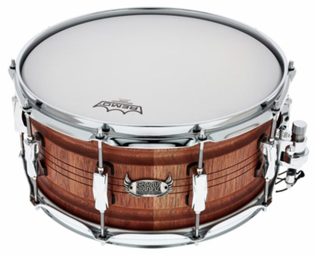 "Sky Percussion 14""x6,5"" Mahogany Stave Snare"