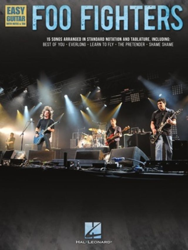 Hal Leonard Foo Fighters Easy Guitar Tab