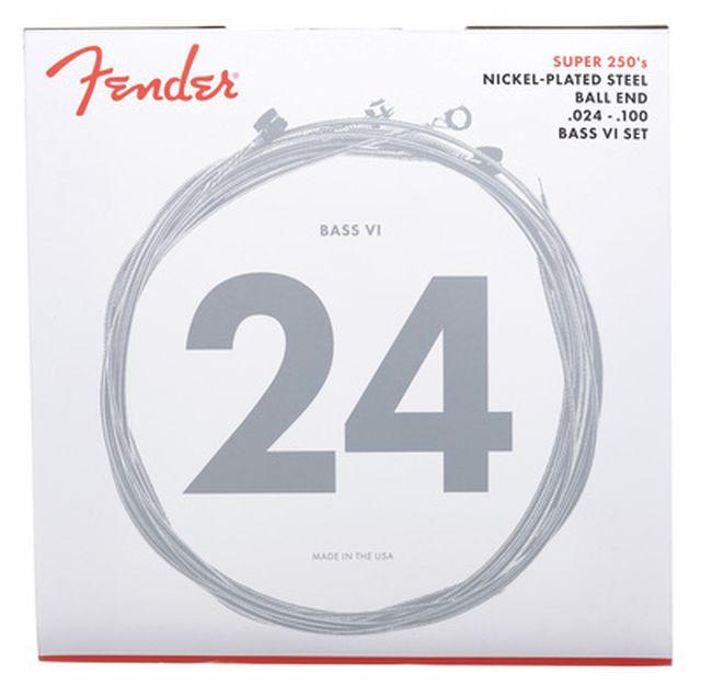 Fender Super 250 Bass IV Nickel