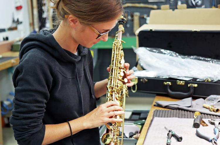 Wind instruments workshop