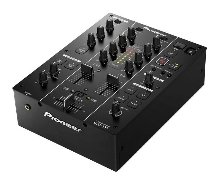 Anzeige: Pioneer DJM-350 Mixer / Bild: Thomann.de