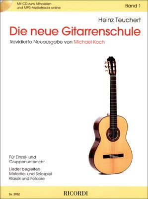 Heinz Teuchert Meine Gitarrenfibel Band 2 Noten mit CD