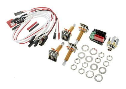 emg 1 or 2 pickups wiring kit ls th n uk