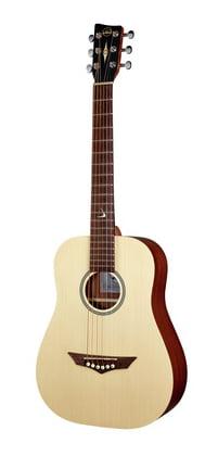 vgs rt de voyage root fabrique en europe mini guitare folk dreadnought