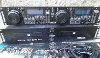 Numark CDN 77 , DJ Doppel CD/MP3 Player , USB , SD Card