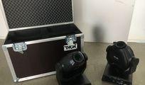 2x Stairville MH-X25 LED incl. Case und Fluggeschirr