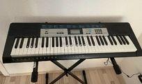 Casio LK-136 Klavier komplett set
