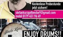 Schlagzeugunterricht in Augsburg