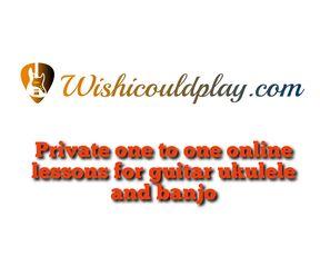 Online guitar ukulele and banjo lessons