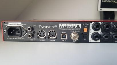 Focusrite Scarlett 18i20 1st Gen. USB-Audiointerface