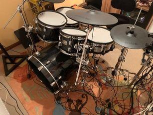 Roland VAD506 E-Drum Set Garantie Neukauf am 14.1.21 viel Zubehör Neupreis 4287€