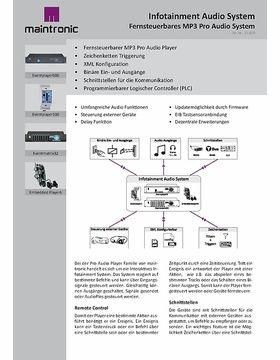 Infotainment Audio System