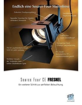 ETC S4 Fresnel Broschüre