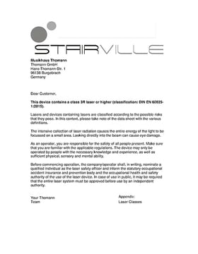 Laser protection note