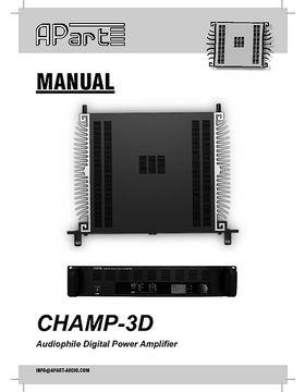 Manual Champ-3D