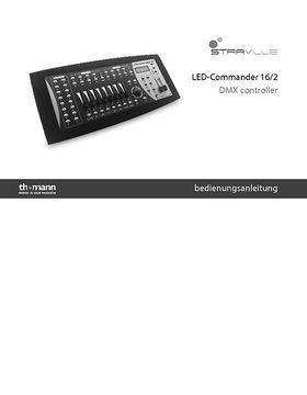 Bedienungsanleitung LED Commander