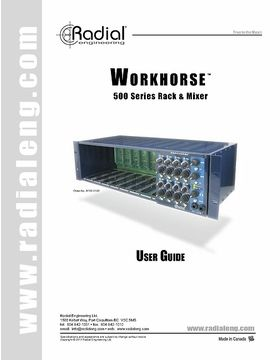 Workhorse User-Guide