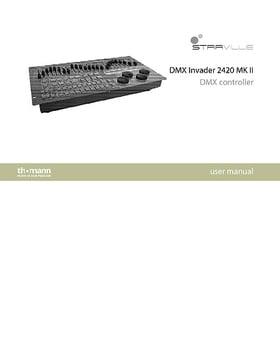 stairville dmx master 3 fx firmware