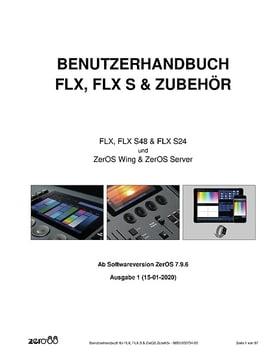 FLX & FLX S Bedienungsanleitung 01/2020