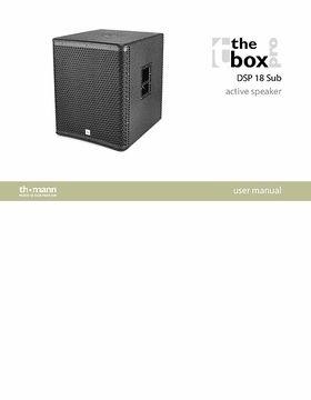the box pro DSP 18 Sub – Thomann UK