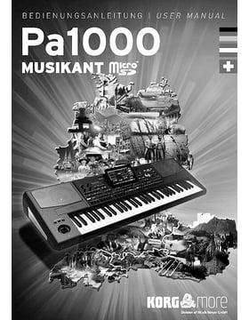 Korg PA-1000 Musikant SD Dongle – Thomann UK