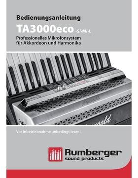 Bedienungsanleitung TA3000eco -S/-M/-L