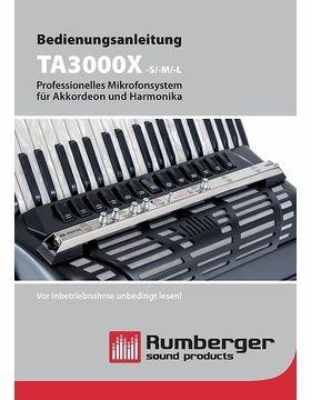 Bedienungsanleitung TA3000X -S/-M/-L