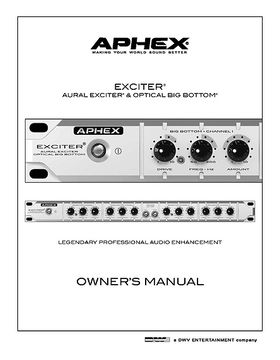 bbe 882i sonic maximizer manual