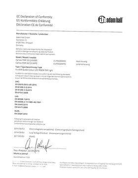 CE-Zertifkat