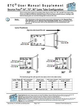 ETC Lens Tube Configurator