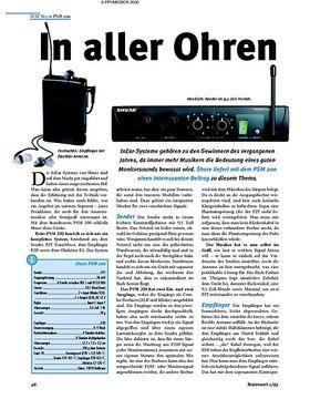 Test Tastenwelt: Shure PSM 200 - In aller Ohren
